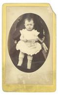 Photo CDV Enfant 1880 - Anonymous Persons