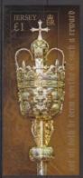 2013  Jersey  Royal Mace Souvenir Sheet MNH @ 70% Face Value - Jersey