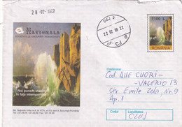 A9764- INSURANCE SOCIETY BUCHAREST, DEJ 1999 STAMP ROMANIA COVER STATIONERY - Postal Stationery