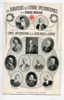 SUISSE GENEVE Fondateurs De La CROIX ROUGE Oeuvre Internationale Portraits Henri Dunant Gustave Moynier ...  D16  2021 - GE Genève