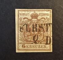 Österreich - Autriche - 1850 - Wappen 1850 - Michel-Nr. 4 A - Gestempelt - Used Stamps