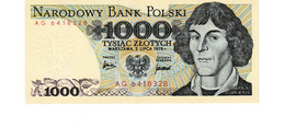 Poland P.146a 1000 Zlotych 1975 Unc - Poland