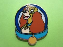 Pin's Disney Belle Chien (La Belle Et Le Clochard) - 7V13 - Disney