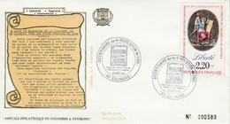 BICENTENAIRE DE LA REVOLUTION à COLOMBES 1989 - Gedenkstempel