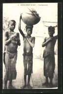 CPA Sénégambie-Niger, Soungourous, Afrikanische Volkstypen - Unclassified