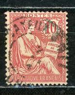FRANCE - MOUCHON 10c - N° Yvert 124 Obl. - 1900-02 Mouchon