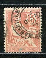 FRANCE - MOUCHON 15c - N° Yvert 125 Obl. - 1900-02 Mouchon