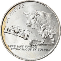 France, 2 Euro, Nièvre, 1997, FDC, Nickel - Andere