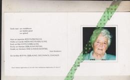 Maria Bovyn-Deblauwe, Ingelmunster 1916, 2002 - Avvisi Di Necrologio
