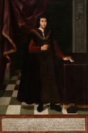 RÉPLICA Lámina Rey De Aragón, Fernando El Católico. Anómino. Siglo XVII. - Zonder Classificatie
