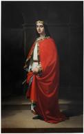RÉPLICA Lámina Rey De Asturias, Ordoño I. Eduardo Cano De La Peña. Siglo XIX. - Zonder Classificatie