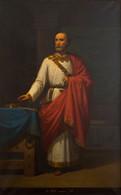 RÉPLICA Lámina Rey De Asturias, Silo. Eduardo Cano De La Peña. Siglo XIX. - Zonder Classificatie