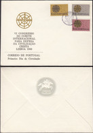 Portugal - FDC, Committee For The Defense Of Christian Civilization - Lisboa 1966 MiNr. 1000-1002. - FDC