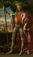 RÉPLICA Lámina Rey Godo De Hispania, Teodorico. Félix Castello. Siglo XVII. - Zonder Classificatie