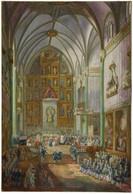 RÉPLICA Lámina Jura De Fernando VII Como Príncipe De Asturias En Real Monasterio De San Jerónimo, Madrid. Luis Paret - Zonder Classificatie
