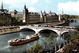 75  PARIS PONT DU CHANGE ET LE PALAIS DE JUSTICE  LA SAINTE CHAPELLE - Puentes