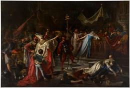 RÉPLICA Lámina Saqueo De Roma, Tropas Del Emperador Carlos V. Francisco Javier Amérigo Y Aparici. Siglo XIX. - Zonder Classificatie