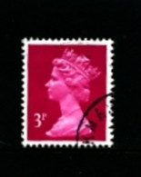 GREAT BRITAIN - 1989  MACHIN  3p.  PCP  Type  II  FINE USED  SG X930c - Série 'Machin'