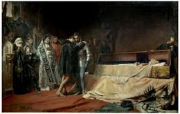 RÉPLICA Lámina Conversión Del Duque De Gandía En Toledo. José Moreno Carbonero. Siglo XIX. - Zonder Classificatie