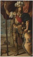 RÉPLICA Lámina Rey Godo De Hispania, Agila. Antonio De Pereda Y Salgado. Siglo XVII. - Zonder Classificatie