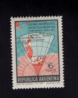 1295150539 1968 SCOTT 851 POSTFRIS (XX) MINT NEVER HINGED EINWANDFREI  -  ANTARCTIC TYPE - MAP OF ARGENTINA AND ANTARCTI - Ungebraucht