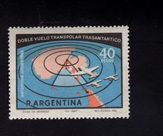 1295152789 1968 SCOTT 853 POSTFRIS (XX) MINT NEVER HINGED EINWANDFREI  -  PLANES OVER MAP OF ANTARTICA - Ungebraucht