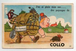 ALGERIE COLLO Carte à Système Dépliante - Altri