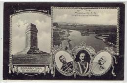 Mysłowice OS. - Drei Kaiser-Reich Ecke Bei Myslowitz - Deutschland - Russland - Österreich - Bismarckturm - Poland