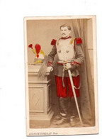 Un Cuirassier-photo 10cm Sur 6cm-photo Rehaussée Couleurs - Oorlog, Militair