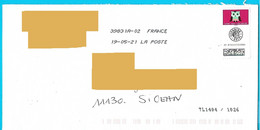 Toshiba Sans Les Vagues Sur Timbre Courrier Suivi Chouette Hibou Rapace Oiseau Bird Vogel Marque Tri TL 1404/1026 - Gebruikt