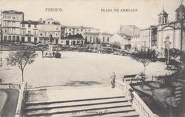 Spagna - Galicia - Ferrol - Plaza De Amboage  - F. Piccolo - Viagg - Bella - Vari