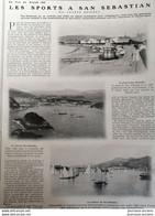1908 LES SPORTS À SAN SÉBASTIAN Par Frantz REICHEL - GOLF - CORRIDA.- REGATES - Unclassified