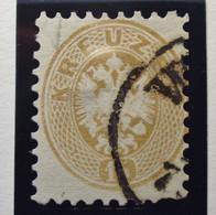 Österreich - Autriche - 1863 - Impress On Relief - Dentelle 9 1/2 - N° 31 - 15K - Bistre/Beige  - Gestempeld - Used Stamps