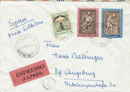Italien / Italia - Umschlag Echt Gelaufen / Cover Used # 22.5.1963 (c439*) - Poste Exprèsse/pneumatique