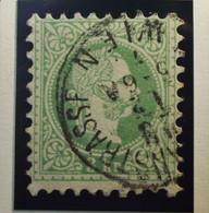 Österreich - Autriche - 1867 - 1880 Autriche - Hongrie  - Type A - Dent. 9 1/2 - N° 33 - 3K - Groen/vert - Gestempeld - Used Stamps