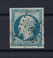 Frankreich Mi.9a Gestempelt Kat.50,-€ - 1852 Louis-Napoléon