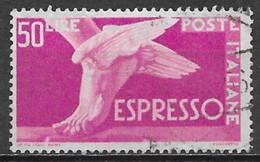Italy 1955. Scott #E32 (U) Winged Foot ** Complete Issue - Express-post/pneumatisch