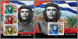 CHAD 2021 MNH Che Guievara Che Guevara M/S+S/S - OFFICIAL ISSUE - DHQ2126 - Other