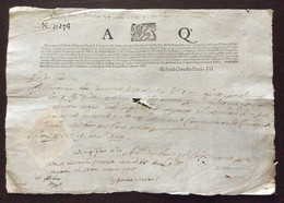 REPUBBLICA DI VENEZIA  24 NOV.1620 - GABRIEL CORADIN DACIO III - CON SIGILLO A SECCO DELLA SERENISSIMA  - RARITA' - Historical Documents