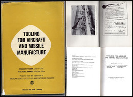 Vintage Technology AVIATION INDUSTRY Industria Aeronautica Missili TOOLING FOR AIRCRAFT AND MISSILE MANUFACTURE Assembly - Altri