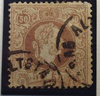 Österreich - Autriche - 1867 - 1880 Autriche - Hongrie  - Type B - Dent. 12 - N° 39 - 50 K - Brun/bruin - Dub.gestempeld - Used Stamps