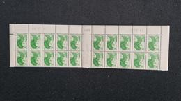 France Liberté N°2424 A (**), Sans Bandes Phosphore, Bloc De 20 Coin Daté - 1982-90 Liberté De Gandon