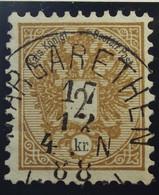 Österreich - Autriche - 1883 Chiffre Noir / Zwart Cijfer - Dent. 9 1/2 à 10 -  N° 40 - 2 K -  Bistre/brun - Gestempeld - Used Stamps