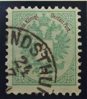 Österreich - Autriche - 1883 - Chiffre Noir / Zwart Cijfer - Dent. 9 1/2 à 10 -  N° 41 - 3 K -  Groen/vert - Gestempeld - Used Stamps