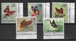 SAN MARINO 1963 BUTTERFLIES  MNH - Butterflies
