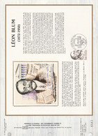 DOCUMENT FDC 1982 LEON BLUM - 1980-1989