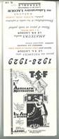 Dépliant 2 Volets TSF Laboratoire Lacour Grenoble , Signé Rob Dac - Radio LL / Farad / Loewe Radio ... - Publicités
