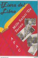 RT31.951 TORINO ITALIE.3e FIERA DEL LIBRO A.P.A.C.3e SALONE DEL LIBRO MAGGIO 1990 - Ausstellungen