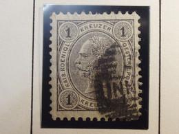 Österreich - Autriche - 1890/96  Kr & Gulden / Fils De Soie - Dent. 10.5 à 13.5 - N° 46 A -  1k - Gris  - Foreign Cancel - Used Stamps