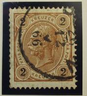 Österreich - Autriche - 1890/96  Kr & Gulden / Fils De Soie - Dent. 10.5 à 13.5 - N° 47 A -  2k - Bruin - Gestempeld - Used Stamps